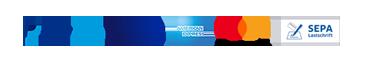 Logos Zahlungsarten Paypal Plus